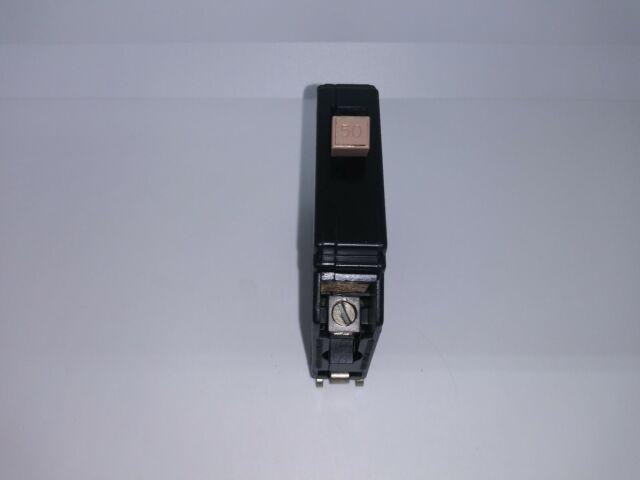 Cutler Hammer 50 Amp 1 Pole CH150 Circuit Breaker METAL FOOT