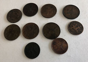 Set 10 Pieces 5 And 10 CENTIMES Since France REF64742