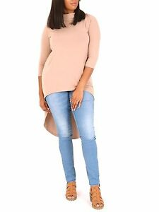 Samya-Plus-Size-Exciting-amp-Gorgeous-Roll-Neck-Top-Size-22-24-28