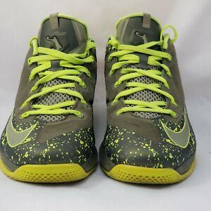 Lebron James XI Mens Nike Size 11 Shoes Volt Green | eBay