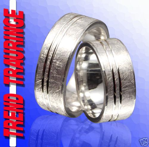 2 vere di Fidanzamento Fedi Anelli Anelli Anelli argentoo & incisione t28 1b651e