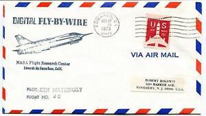 1973 F-8 Digital Fly-by Wire - Ken Mattingly - Flight Research Edwards Nasa