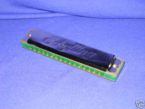 Five Inch Harmonica by Schylling Mint in the Box
