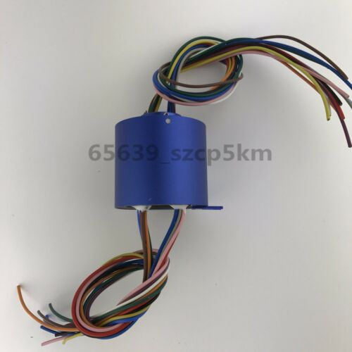 Slip Ring Through Hole Dia.12.7mm   12 Circuit//10A  for Wind Power Generator