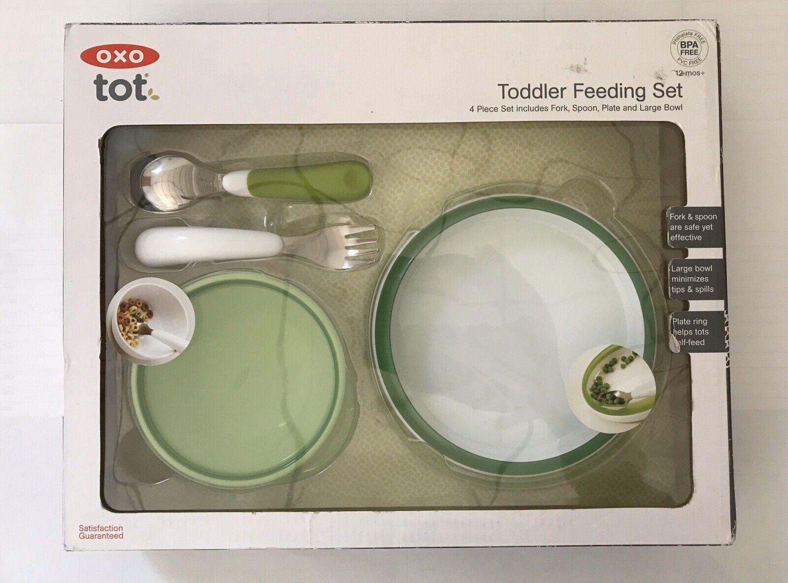 Four Piece Feeding Set OXO TOT