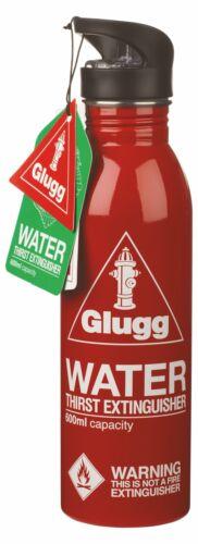 Red Glugg bouteille d/'eau soif extincteur
