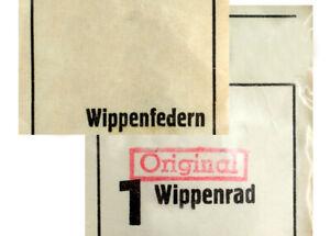 Hell Uhren Ersatzteil Wippenrad Und Wippenfeder Verschiedene Hersteller Auswahl Ausgezeichnet Im Kisseneffekt