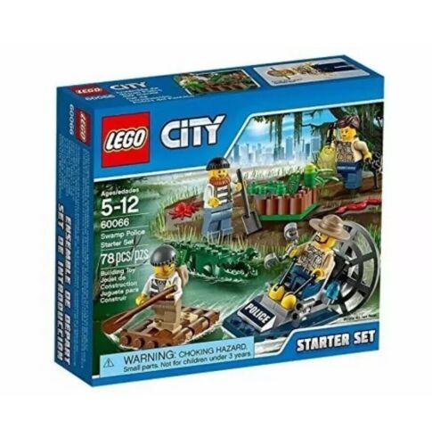 Swamp Police Starter Set Lego City 60066