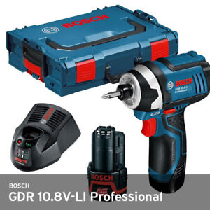 Image Is Loading Bosch Gdr10 8v Li Cordless Impact Wrench Drill