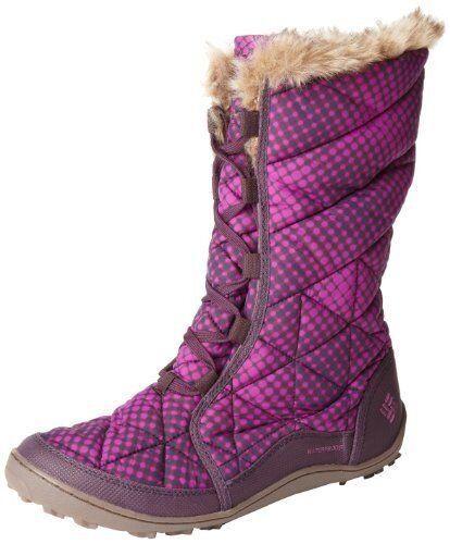 Nueva con con Nueva caja Columbia Mujer Minx MID Imitación Piel Omni-Heat Bota Impermeable Púrpura Talla 6 d84bf4