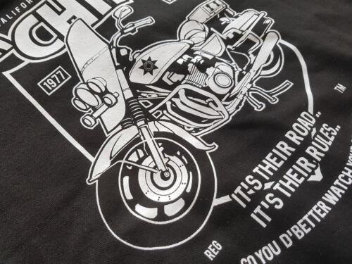 chips highway patrol RINGER T-Shirt  bike Kult,Serie,Fun classic highway police