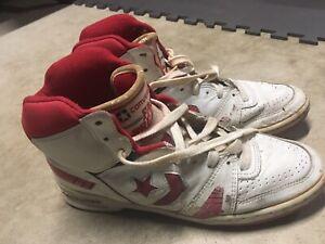 Detalles acerca de Vintage años 90 Converse Fast alta Top zapatos Break Jordan Chicago Bulls 10 Michael mostrar título original