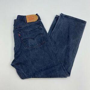 Levi-039-s-511XX-Jeans-Mens-40X32-Blue-Straight-Leg-Cotton-Medium-Wash-5-Pocket