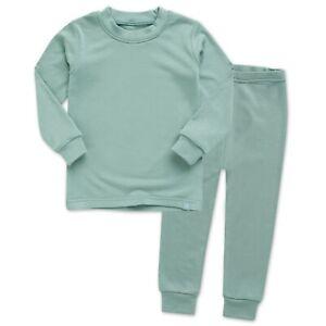 Vaenait-Baby-Toddler-Kids-Clothes-Long-Pajama-Set-034-Modal-Mint-034-18M-12Y