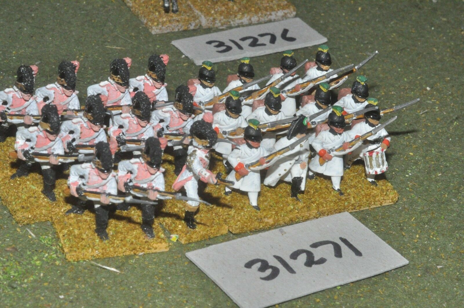 25mm napoleonic   french - revolutionary line 23 figures - inf (31271)