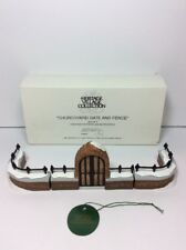 Dept 56 Dickens Village 5806-8 Churchyard Gate and Fence Set of 3 58068