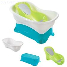 infant bath tub with adjustable height comfortable for infants and toddlers