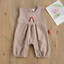 thumbnail 4 - USA Sibling Brother Sister Twin Baby Boy Girl Rainbow Jumpsuit Top Pants Outfits