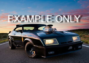 Mad-Max-Interceptor-body-kit-fibreglass-nose-flares-wings-spoiler-XB-XC-XA-Coupe