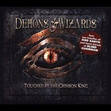 Touched by the Crimson King [Bonus Tracks] by Demons & Wizards (CD, Jun-2005, S…