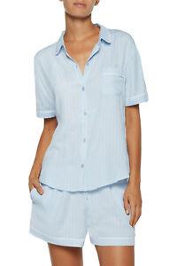 329fedd6ab Details about DKNY Striped jersey pajama set Top Sz. XL Bottom Sz.L !!!!