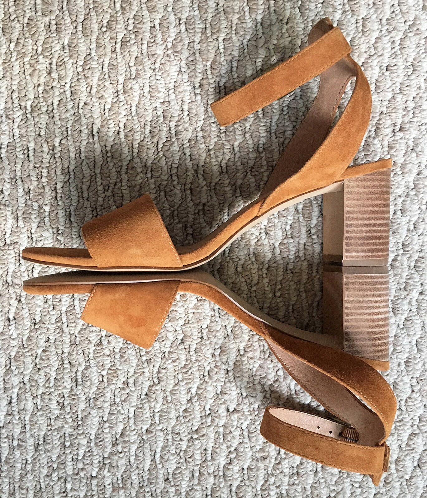 NWOB Madewell Amber Claudia Sandal in Amber Madewell braun Suede - 9 863d5e