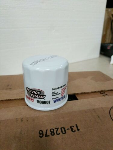 WPH2876 Oil Filters Fast Shipping New Service Champ OF4622 LOT M06607 12