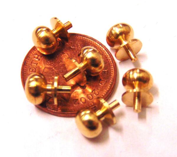 Originale 1:12 Scala 6 Metallo Maniglie Tumdee Maniglie In Miniatura Casa Delle Bambole Fai Da Te 058 Costo Moderato