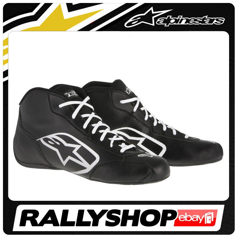 ALPINESTARS Kartschuh TECH 1-K START Schuhe Schuhe Schuhe Schwarz Weiß Rennen Fahr Sport 7bf0d6