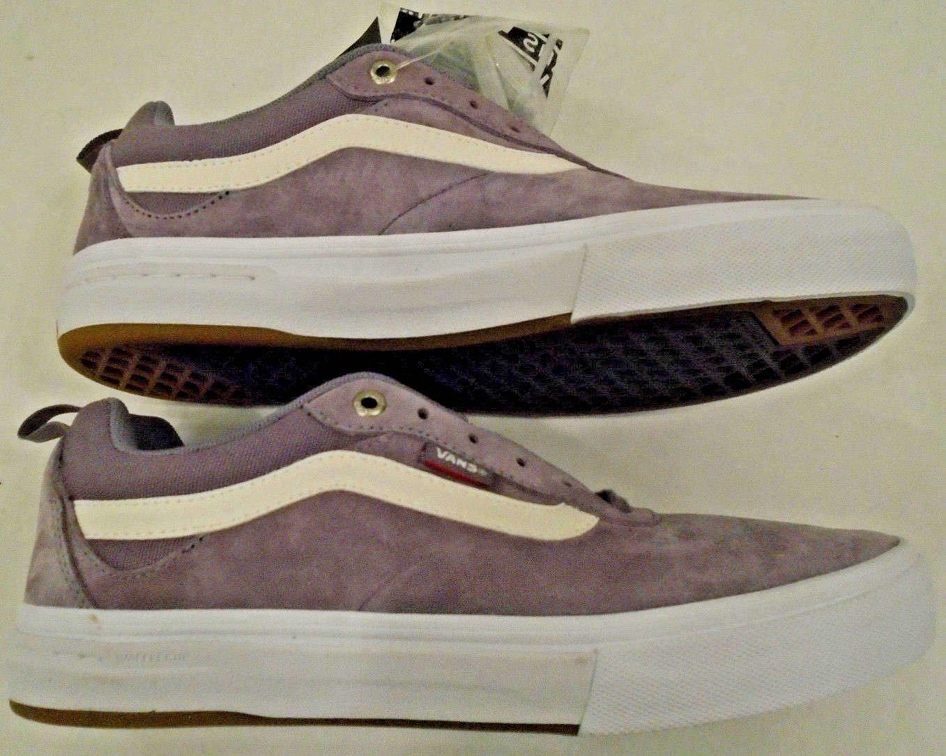 NEW Vans Uomo 8.5 Kyle Walker Pro Suede Skateboarding Shoes Light Fuchsia 721454