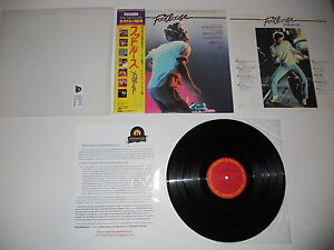 Footloose Soundtrack 1984 Hagar Loggins Exc Japan 1st Press