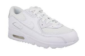 best sneakers d792d 59f76 ... Nike-air-max-90-cuir-enfants-baskets-garcons-