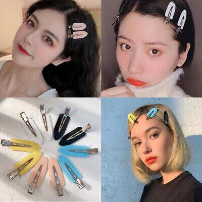 4pcs Cute Women No Bend No Crease Mark Hair Clips Makeup Hair Styling Bangs Clip Ebay