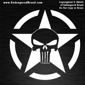 Punisher-Army-Star-in-Circle-Patriotic-USA-Flag-Sticker-Decals