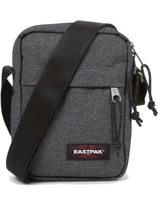 Eastpak Umhängetasche »The One« Schwarz-Grau Tasche Schultertasche Black Denim