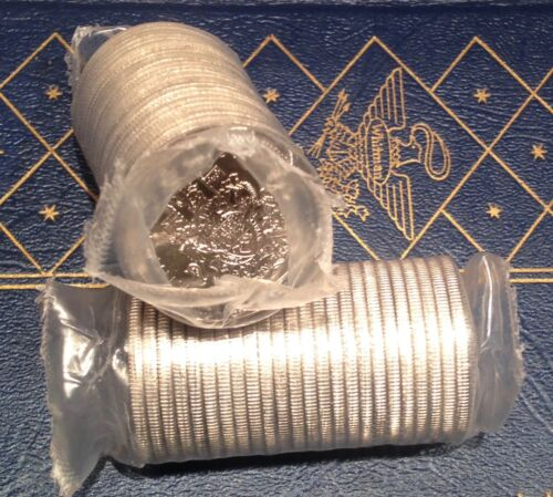 25 pcs Original Mint Roll of Half Dollars 1998