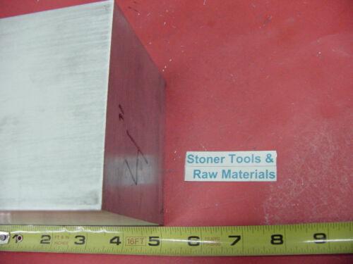 "4/"" X 4/"" ALUMINUM 6061 SQUARE SOLID BAR 5/"" long T6511 Flat New Mill Stock"