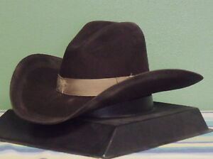Image is loading STETSON-ELK-RUN-4X-WOOL-FELT-GUS-COWBOY- d0b1868eb19