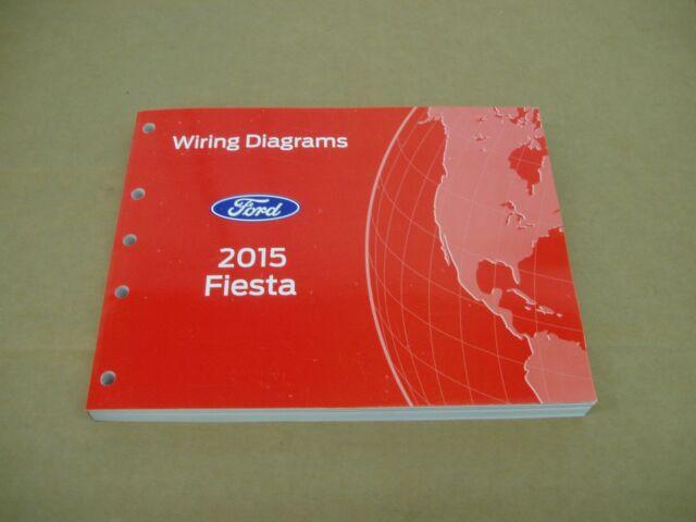 2015 Ford Fiesta Wiring Diagram Service Shop Dealer Repair