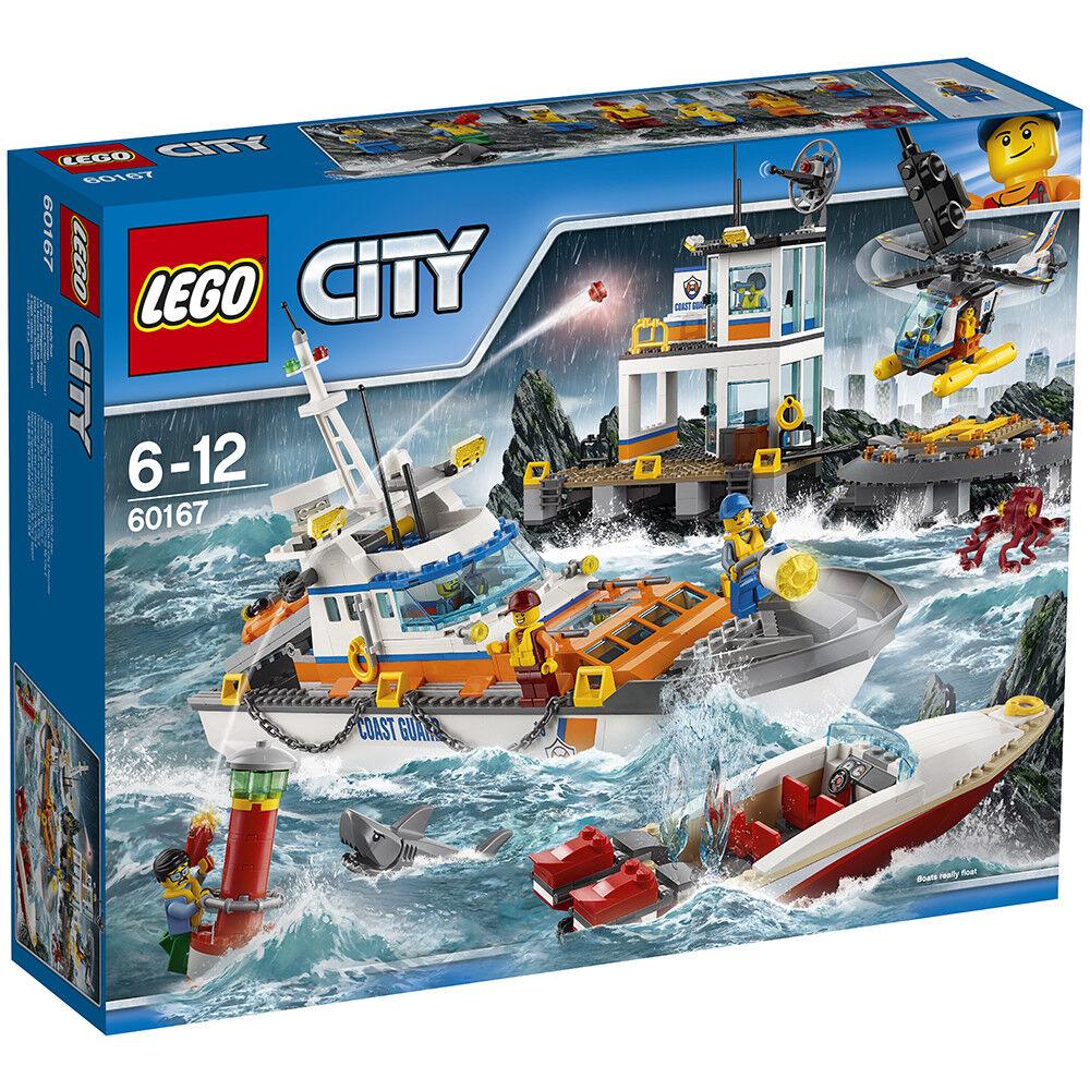Lego City 60167  Coast  Guard Head Quarters-Neuf  pas de minimum