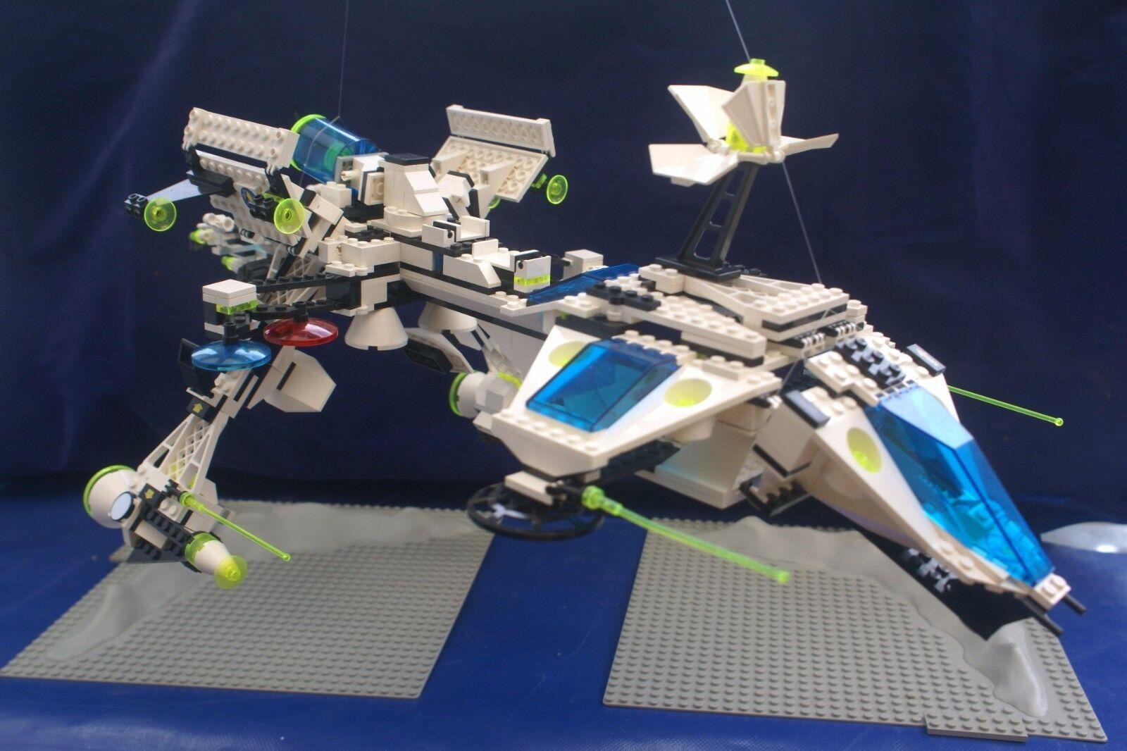 Carnaval Noël, et je suis suis suis charFemmet! Lego 6982 Explorien Starship vintage espace Instructions Complètes 4 Minifigures febef6