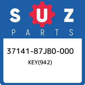 37141-87JB0-000-Suzuki-Key-942-3714187JB0000-New-Genuine-OEM-Part