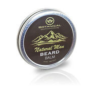 Natural Man Beard Conditioning Balm 2oz - All Natural Beard Conditioner By Bsw
