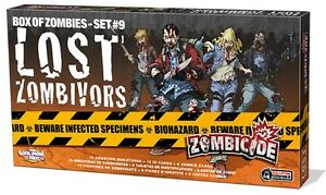ZOMBICIDE - Box of Zombies 7 : Lost Zombivors