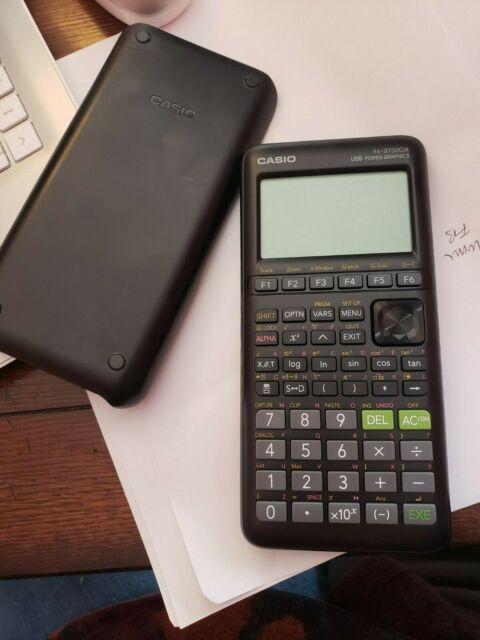 Casio fx-9750GIII Graphing Calculator - Black New (no box)