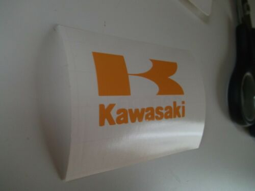 Kawasaki..Panel..Fern Bellypan...Decal ....x2