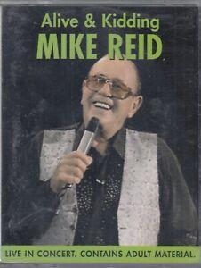 Mike-Reid-Alive-amp-Kidding-2-Cassette-Audio-Comedy-Live-Humour-Jokes-FASTPOST