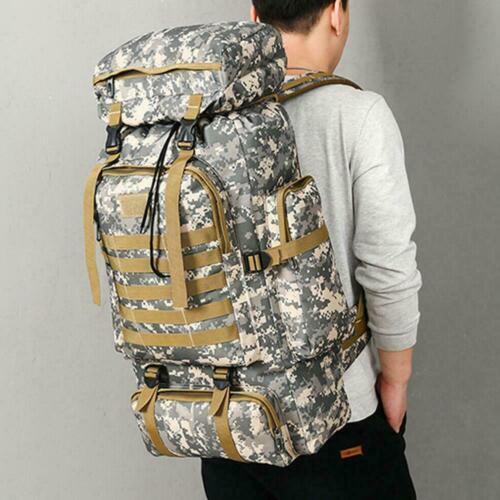 Wandern Camping Tasche Army Military Tactical Trekking Rucksack Camo h Ruck A5D7