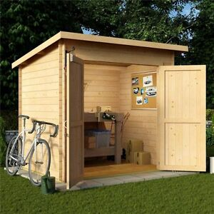 Charmant Image Is Loading BillyOh Pent Log Cabin Windowless Heavy Duty Shed