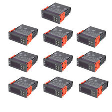 110v Fahrenheit Temperature Controller Thermostat Control Relay Ntc Sensor O5e5